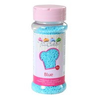 Sprinkles mini-boules bleu 80gr