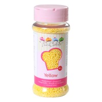 Sprinkles mini-boules jaunes 80gr