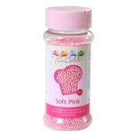 Sprinkles mini palline rosa chiaro 80gr