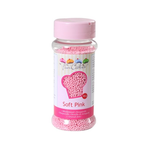 Sprinkles mini light pink balls 80gr
