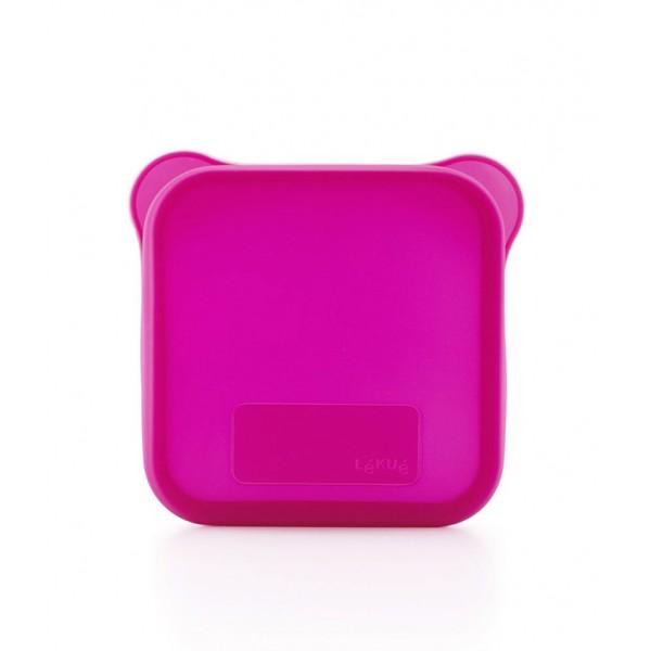 Funda para sándwich rosa Lékué
