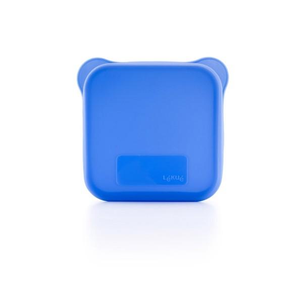 Funda para sándwich azul Lékué