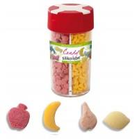 Décoration de sucre fruit