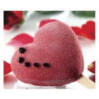 Mini heart ice cream molds Silikomart