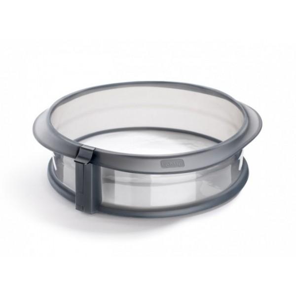 Moule Duo démontable avec assiette en céramique gris Lékué