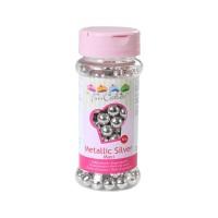 Sprinkles argenté perles maxi 8mm 80gr