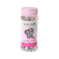 Sprinkles silver pearls maxi 8mm 80gr