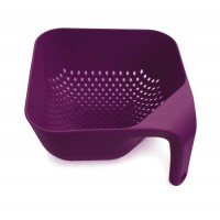 Square colander purple Joseph 16 cm