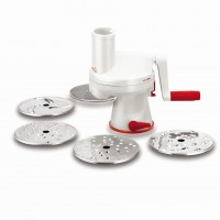 5 disc manual vegetable slicer