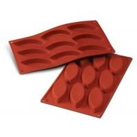 Barchetta mold silicone 9 cavities Silikomart