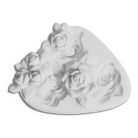 Sugarflex moule silicone rose Silikomart