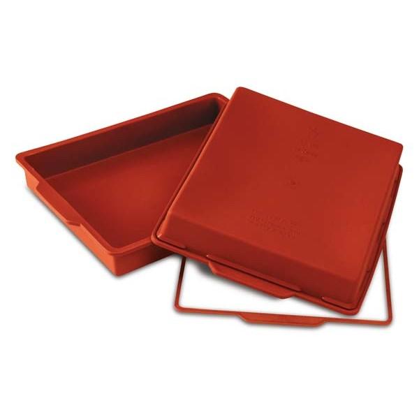 Molde silicona para Lasagna Silikomart 41,5x27xh4cm 4,5 litros