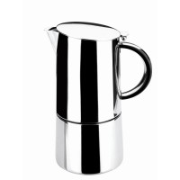 Moka express coffee. inox 18/10 ( 6 cups)