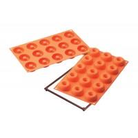 Molde donuts mini 15 cavidades Silikomart SF 171