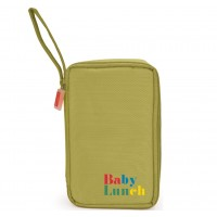 Bolsa isotérmica Baby Lunch verde + tupper 450ml