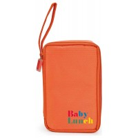 Bolsa isotérmica Baby Lunch naranja + tupper 450ml