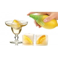 Set cocktail Lékué giant ice cube + citrus spray
