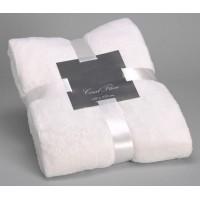 Manta blanco roto 170x130 cm