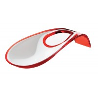 Red Latina two-tone ladle rest Guzzini