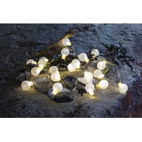 Garland translucent balls mini led