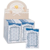 Frangrance sachet fresh cotton 8x12 cm blue