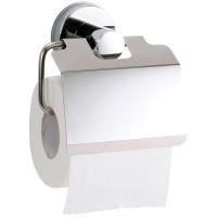 Portarrollos papel WC inox con ventosa