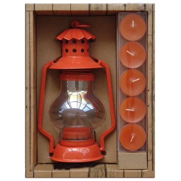 Set cadeau porteurs de lanterne orange