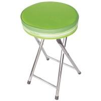 "Green bathroom stools ""Trazos"""
