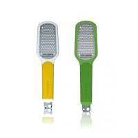 Yellow/green grater for citrus