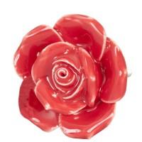 Doorknob ø 4,5 cm red