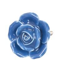 Doorknob ø 4,5 cm blue