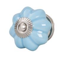 Doorknob ø 5 cm blue