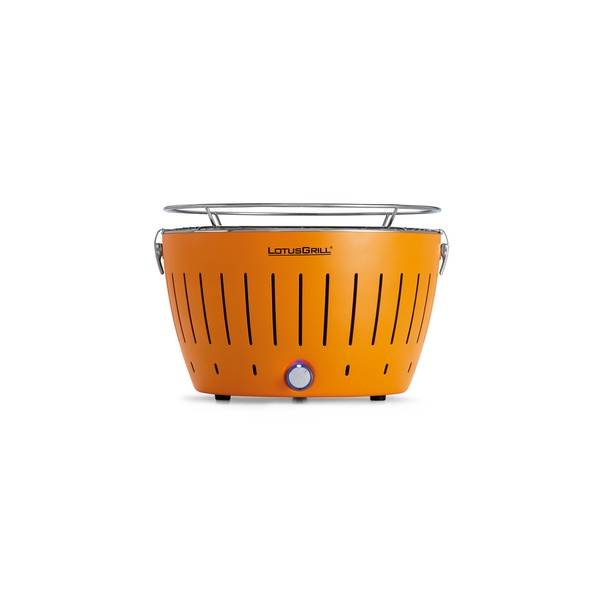 Barbecue a carbonella portatile lotusgrill arancione chlo sweet home - Barbecue portatile a carbonella ...