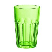 Verre grand acrylique vert Happy Hour Guzzini