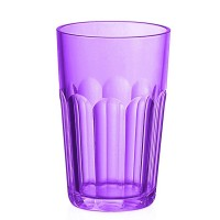 Tall purple acrylic glass Happy Hour Guzzini
