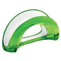 Green two-tone table napkin holder Mirage Guzzini