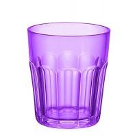 Small purple acrylic glass Happy Hour Guzzini
