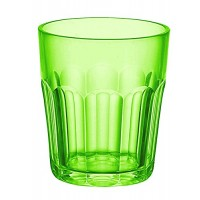 Small green acrylic glass Happy Hour Guzzini