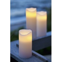 White led candle