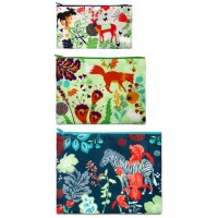 Cosmetic bag nature (3 pcs)