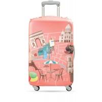 Suitcase cover París