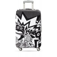 Suitcase cover comic Kaboom