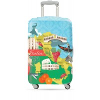 Suitcase cover Italy