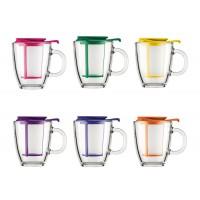 Glass mug teapot with filter Yo-Yo 0,35 l