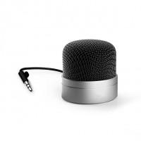 Micro haut-parleur idole argent