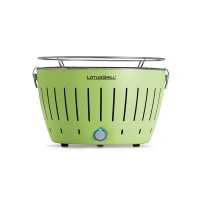Portable charcoal barbecue green LotusGrill