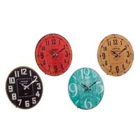 Reloj de mesa cristal varios colores pequeño Antique 18 cm