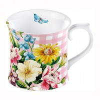 Taza Katie Alice English Garden Pink Tankard 350ml