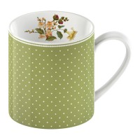 Taza Katie Alice Highland Fling Green Spot 330ml