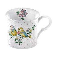 Taza Katie Alice Bird Song White Bird Palace 295ml
